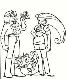 #pokemonkleurplaten - Team Rocket http://www.pokemon-kleurplaat.nl/kleurplaten/teamrocket/teamrocket-3.html