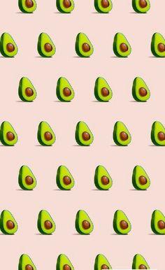 Imagen de avocado, wallpaper, and pink