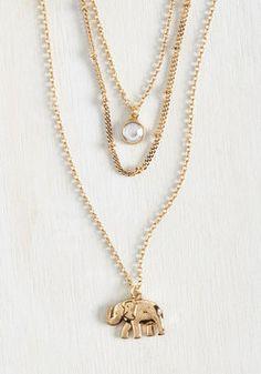 Elephant Elegance Necklace