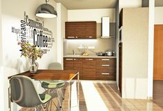 Vizualizace kuchyňské linky #dbdesign