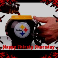 Drink up Steelers Mug