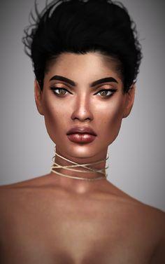 Elaina Rosado. Genetics Hair: @simpliciaty [xx] Baby hair: @candycanesugary [xx] Skin tone: @kijiko-sims [xx] Skin mask: @m-i-l-k-sims [xx] Moles: Tifa [xx] Eyes: @lullabysims [xx] Eyebrows: @pralinesims [xx] Eyelashes: @kijiko-sims...
