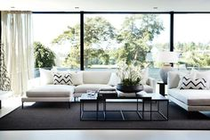 Easy living room design and decor tips - Are you re-decorating your living room? Work on making the living room in your house fabulous with the best living room design strategies. Click the link for more info Living Room Remodel, My Living Room, Living Room Interior, Home And Living, Living Spaces, Style At Home, Modul Sofa, Living Room Decor Inspiration, Contemporary Home Decor