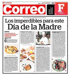 Gestión de entrevista realizada para nuestro cliente Restaurante Puerto Norte en el Diario Correo