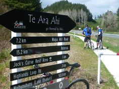 Through the forest, now heading toward Taupo on trail rather than state highway one..