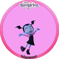 Hermoso mini Kit Imprimible de Vampirina para descargar, editar y completar colocando en el los datos de la pequeña fanática de la serie. Vampirina, de reciente estreno en Disney Junior, ha llegado… Princess Peach, Party Themes, Disney Junior, Birthdays, Birthday Parties, Halloween, Mini, Stickers, Drawings