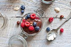 Pouding au chocolat et au beurre d'arachide | Natrel