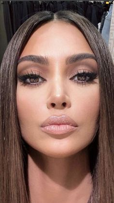 Makeup Art, Beauty Makeup, Eye Makeup, Hair Makeup, Beauty Tips For Girls, Model Face, Tips Belleza, Makeup Goals, Girl Face