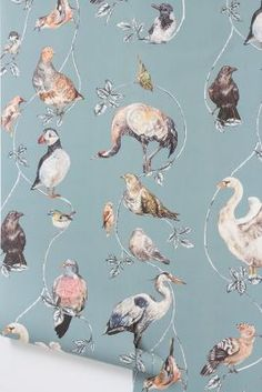 Flights Of Fancy Wallpaper. Adorable <3
