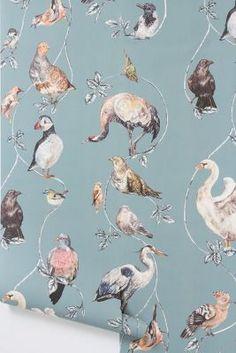 house of hackney flights of fancy wallpaper