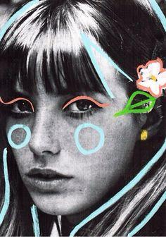 Whistles via Instagram - Jane Birkin Illustration by Joe Cruz