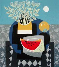 Blue Table, Jane Walker