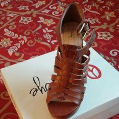 Shoes Dark Carmel heels Shoes