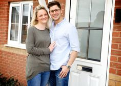 First time buyers Jemma Booker and Robert Bennie have finally found their dream family home at Barratt Homes' The Hedgerows development in Thurcroft after first dating at the tender age of 10 years old. Barratt Homes, Case Study, 10 Years, First Time, The Help, Home And Family, Dating, Age, Couple Photos