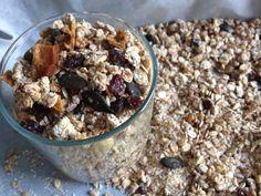 Chrumkavá raňajková granola alias domáce müsli