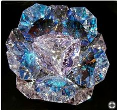 A rough blue diamond Minerals And Gemstones, Rocks And Minerals, Beautiful Rocks, Mineral Stone, Rocks And Gems, Stones And Crystals, Gem Stones, Blue Stones, Blue Crystals