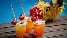 Une recette de Drapeau mexicain virgin (cocktail pour enfants), présentée sur Zeste et zeste.tv.
