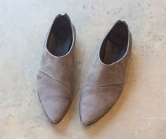 Womens shoes, Women Leather Oxfords, Brown Leather Shoes, Brown Shoes, Taupe Leather, Oxford flats, Gray Shoes, Genuine Leather Flat Shoes
