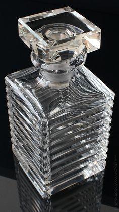 Vintage Lead Crystal Whiskey Scotch Decanter | Barware & Bar Cart Accessories : https://www.etsy.com/shop/cobaltblau2013?ref=hdr_shop_menu
