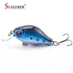 SEALURER Brand Floating Wobbler Fishing VIB Lure 5cm 8G Artificial Pesca Fly Fishing Crankbait Hard Bait Tackle 5color Available *** Vy mozhete poluchit' boleye podrobnuyu informatsiyu, nazhav na izobrazheniye.