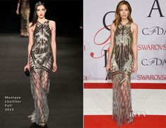 Michelle Monaghan In Monique Lhuillier - 2015 CFDA Fashion Awards
