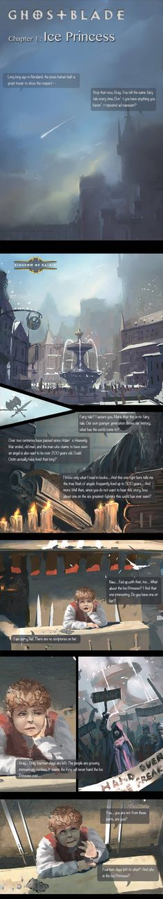 GhostBlade :: Chapter 1 : Ice Princess (A) | Tapastic Comics - image 1