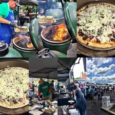 What a fun day! BGE's cooking all kinds of food; great turn out  lots of people enjoying great food and learning about the BGE! #biggreenegg #bge #bbq #grilling #grill #bgenation #barbeque #manmeatbbq #meatchurch #backyard #outdoorcooking #meatcraft #bossfree #bossfreelife #cigar #babyboomer #retirement #lowandslow #lumpcharcoal #woodfired #bbqnation #fogocharcoal #saturday by bossfreelife