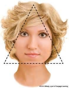 17 Best Triangle Face Shape Images On Pinterest Faces Haircut For
