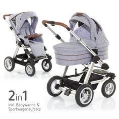 Limitierte Auflage: Der #Kinderwagen Viper 4S Style Edition 2015 von ABC Design ist nicht nur schick anzusehen, sondern sogar geländetauglich. | Babyartikel.de