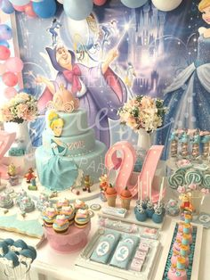 Determinant counseled quinceanera party planning For Faster Service・ Birthday Party Celebration, 4th Birthday Parties, Girl Birthday, Birthday Crowns, Princess Birthday, Cinderella Party Decorations, Birthday Party Decorations, Princess Party Favors, Disney Princess Party