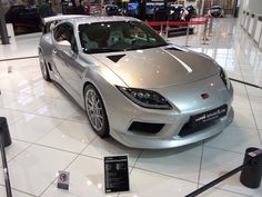 GRMN Sports FR Platinum from Toyota FRS basis Still concept car...