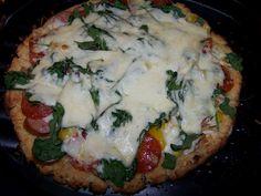 Skinny GF Chef : Skinny Low Carb Cauliflower Crust Pizza, GF, DF