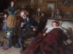 Morgan Weistling (American artist) 1964 -  The Country Doctor,