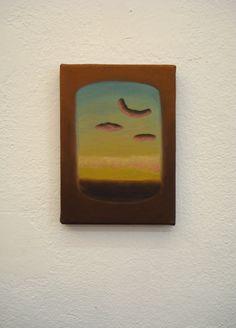 Juan Reos - Atardecer - Óleo sobre tela - 13x18cm - 2013