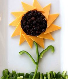 A Healthy Snack Idea: Sunflower Sandwich