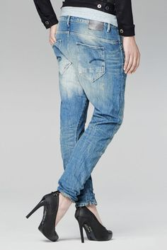 EUC - AS NEW - RRP $349 - Womens G-Star Raw  ARC 3D LOOSE TAPERED WMN  Jeans