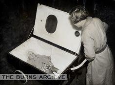Gas-Proof Perambulator will Keep Baby Safe in Air Raids, 1938.