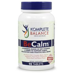 """KEEP CALM & CARRY ON - A skillfully crafted blend of stress & anxiety relieving vitamins, herbs and minerals that work together to help you stay calm and poised as you conquer all the little battles each day brings. Travel, work, play and socialize without worry."""