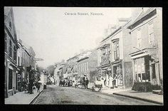 Church Street, Newent, Gloucestershire, looking east towards The George Hotel c1904