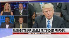 """If conservatives were lukewarm or even upset about TrumpCare and the health insurance plan and all that jazz, this is something that will make them stand up and cheer.""  Chris Stirewalt declared President Donald J. Trump's budget proposal as the most conceptually conservative budget ever put forward by a chief executive. Do you agree? http://fxn.ws/2nrr8MD"