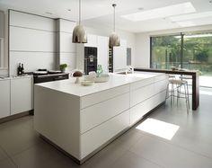 Victorian house conversion : Modern kitchen by Genevieve Hurley Interiors Ltd