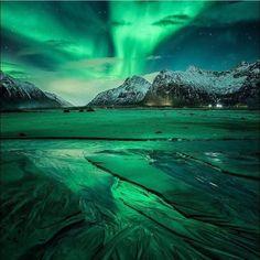 Flakstad, Norway.. Photo credit: @dennispolklaeserphotography