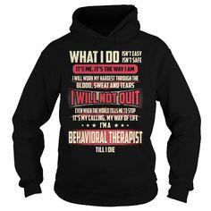 Behavioral Therapist Job Title T-Shirt T Shirts, Hoodies Sweatshirts