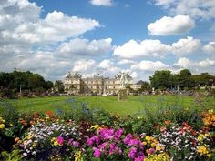 Most Elegant Palace with a Beautiful Garden, Luxembourg Palace, Paris