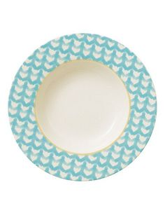 Lina aqua deep plate 24cm £7.98