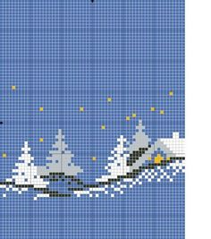 Can't read the original description, but this is beautiful Cross Stitch Tree, Modern Cross Stitch, Cross Stitch Charts, Cross Stitch Patterns, Christmas Embroidery, Christmas Knitting, Christmas Cross, Knitting Charts, Baby Knitting