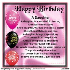 Free mother poems from daughter birthday daughter happy birthday popular birthday wishes for granddaughter beautiful birthday messages daughter poem happy birthday bookmarktalkfo Images