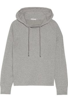 James Perse - Cotton-blend Jersey Hooded Top - Gray - 2