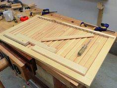Ah! E se falando em madeira...: fazendo venezianas moveis