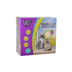 Lazy cat 36451WP Multi-Cat Window Perch => To view further, visit now : Cat Doors, Steps, Nets and Perches